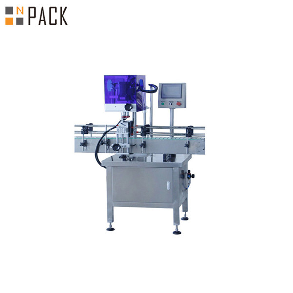 Automatic 4 Wheels Screw Capping Machine