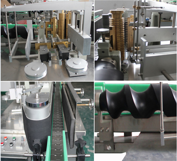 Automatic Bottle Wet Glue Labeling Machine