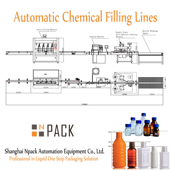Automatic Chemical Filling Lines