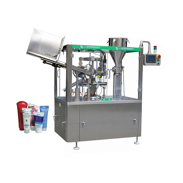 Automatic Laminated / Plastic / Aluminum Tube Filler And Sealer