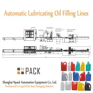Automatic Lubricating Oil Filling Lines