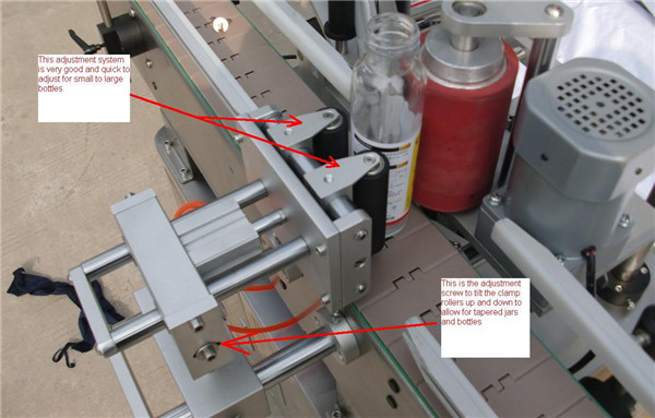 Automatic Orientation Position Labeling Machine details