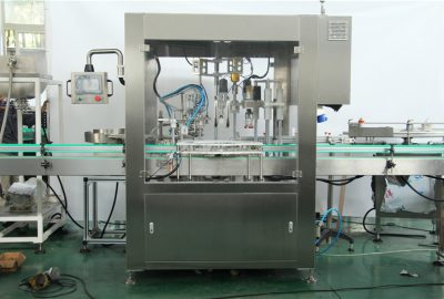 Automatic Servo Piston Type Cosmetic Filling And Capping Machine