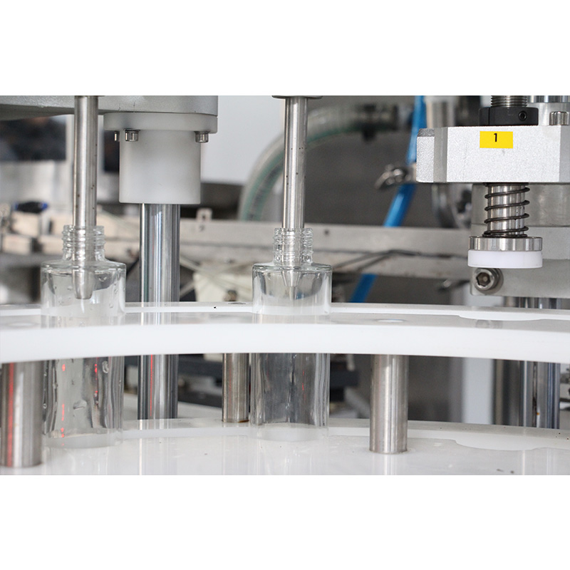 Automatic Servo Piston Type Cosmetic Filling And Capping Machine Details