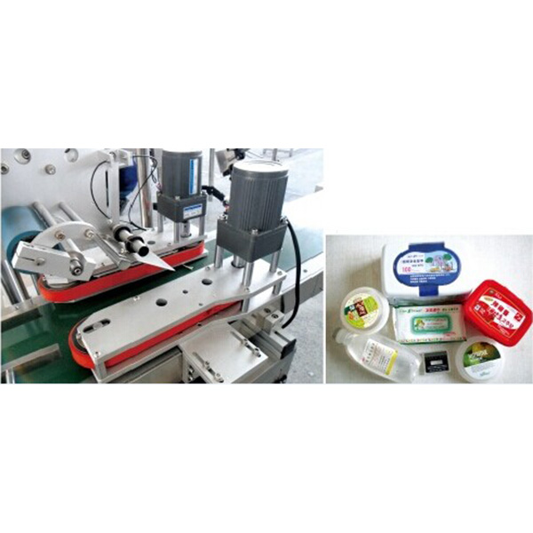 Automatic Top Side Sticker Labeling Machine
