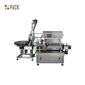 Automatic Twist Off Vacuum Capping Machine