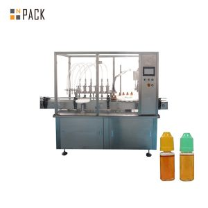 NP-MFC Automatic E-liquid Bottle Filling Machine