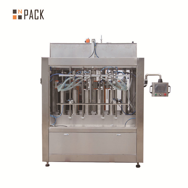 NP-VF Automatic Gravity Chemical Bottle Filling Machine