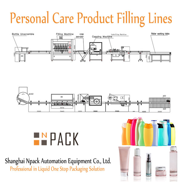 Personal Care Product Filling Lines