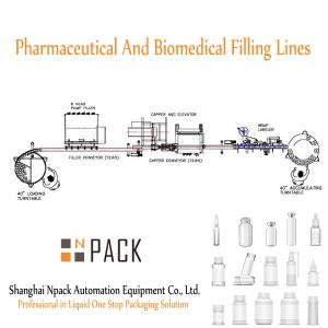 Pharmaceutical And Biomedical Filling Lines