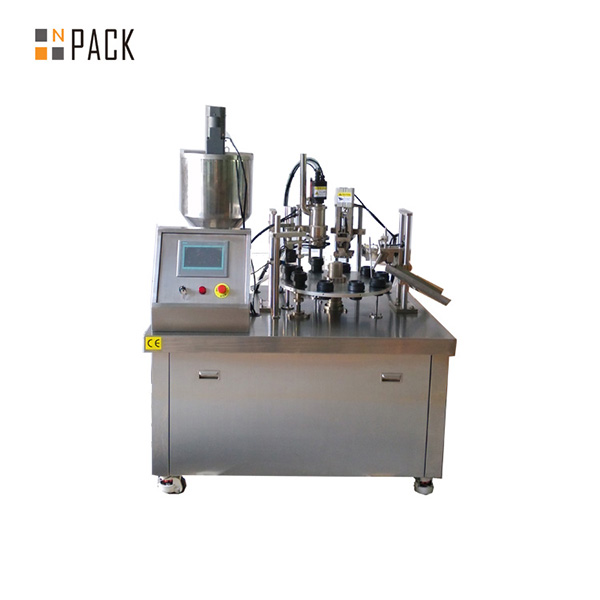 Semi Automatic Tube Filling Sealing Machine